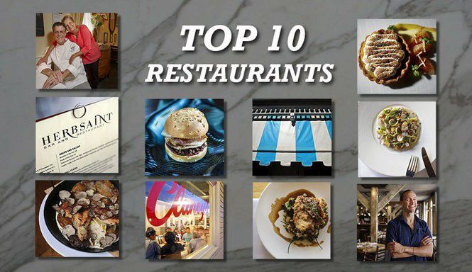 Top 10 Restaurants In New Orleans For