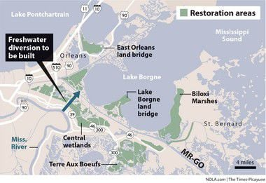 Louisiana sues Corps of Engineers for $3 billion cost of repairing MR-GO damaged wetlands