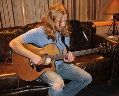 "Adam Pearce of ""The Voice"" records CD in Mandeville, shares high hopes for resurgence of rock"