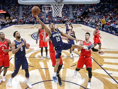 Toronto Raptors at New Orleans Pelicans 3/8/19