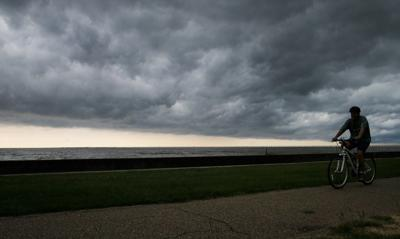 Stormy weather file photo