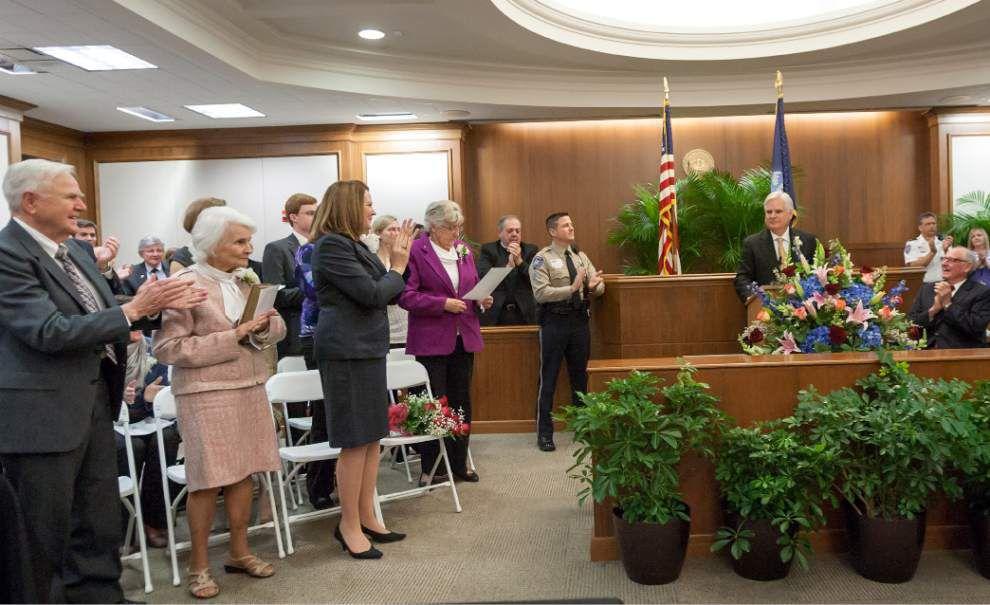 Warren Montgomery sworn in as DA in St  Tammany | St