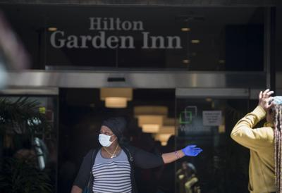 Homeless at the Hilton