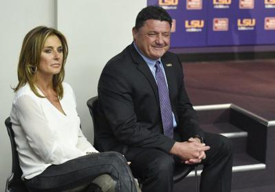 LSU coach Ed Orgeron's wife Kelly nearly died last May: report