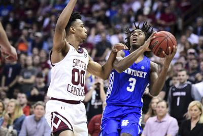 Kentucky South Carolina Basketball