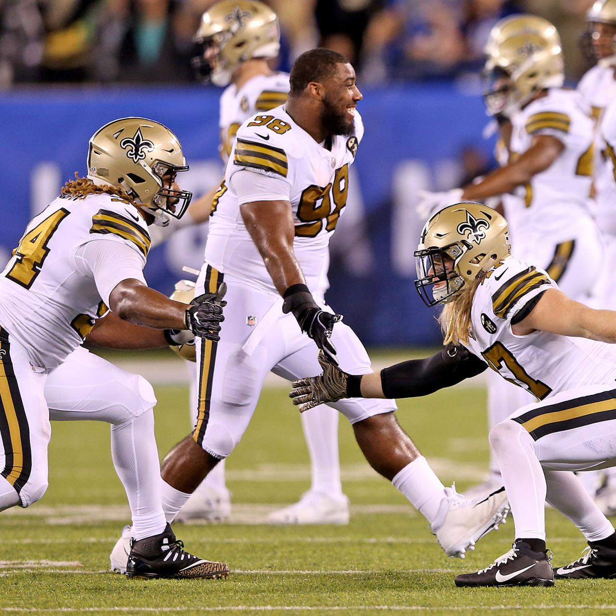 the best attitude c643f 928f3 Saints to wear color rush jerseys vs. Eagles as a result of ...
