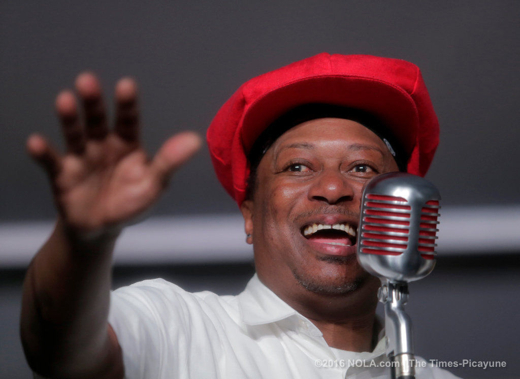Kermit Ruffins dazzles soggy crowd with Satchmo salute at New Orleans Jazz Fest 2016