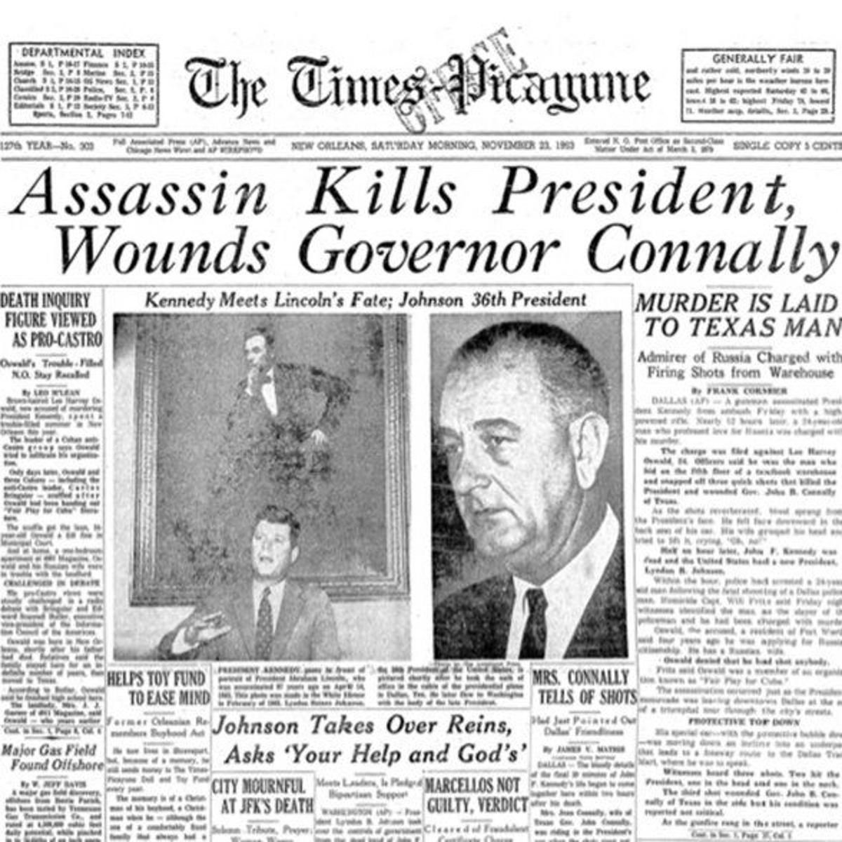 JFK and New Orleans 1963: The Times-Picayune chronicles a