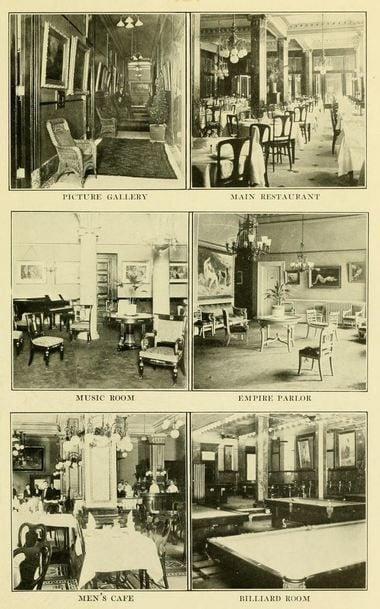 A peek inside a fancy New Orleans hotel a century ago