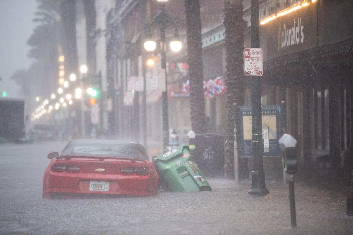Street flooding on Canal Street 071019