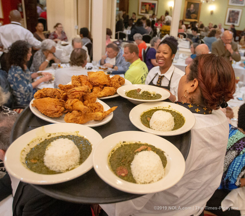 Holy Thursday at Dooky Chase's Restaurant in New Orleans: See photos