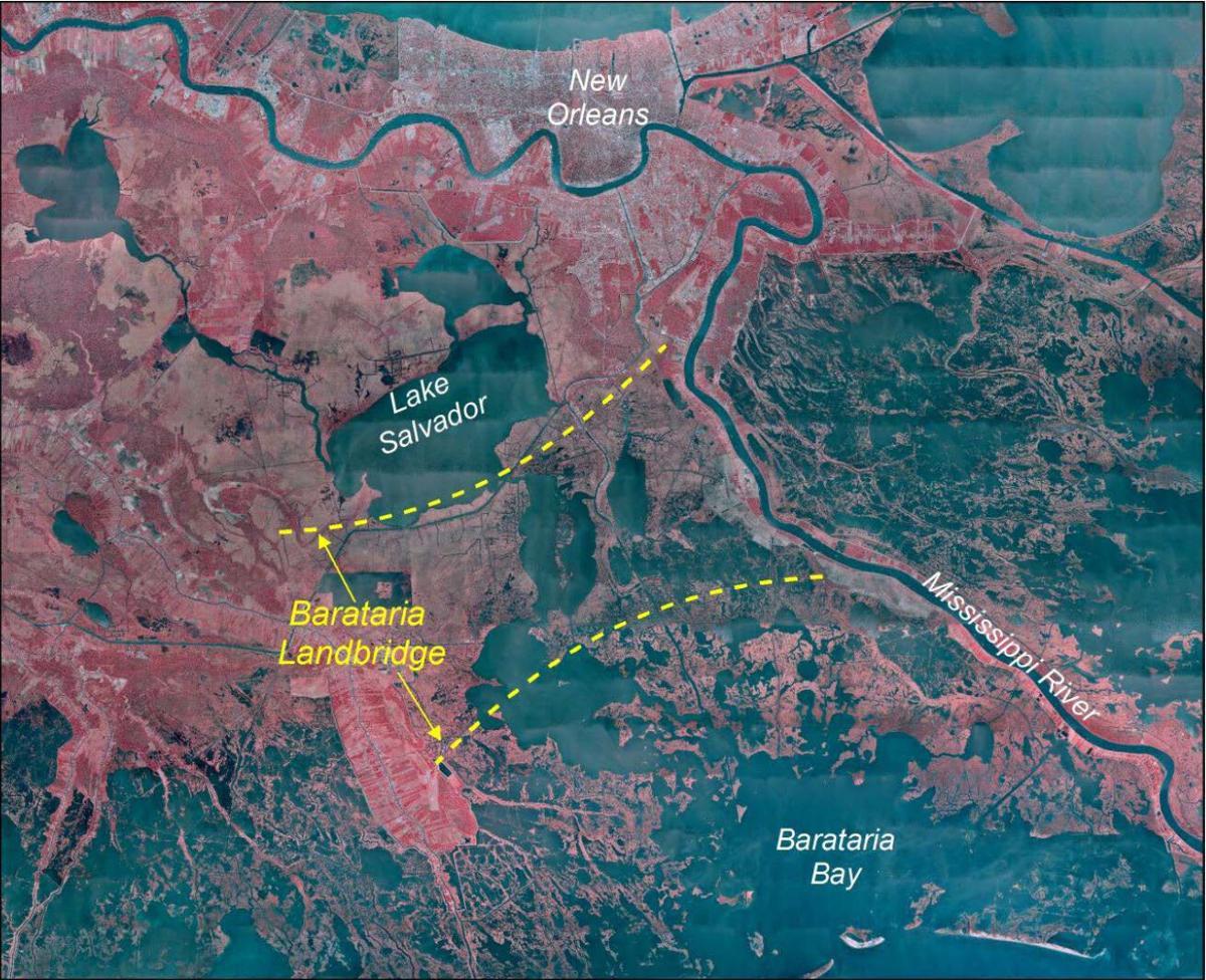 Land bridge strategy