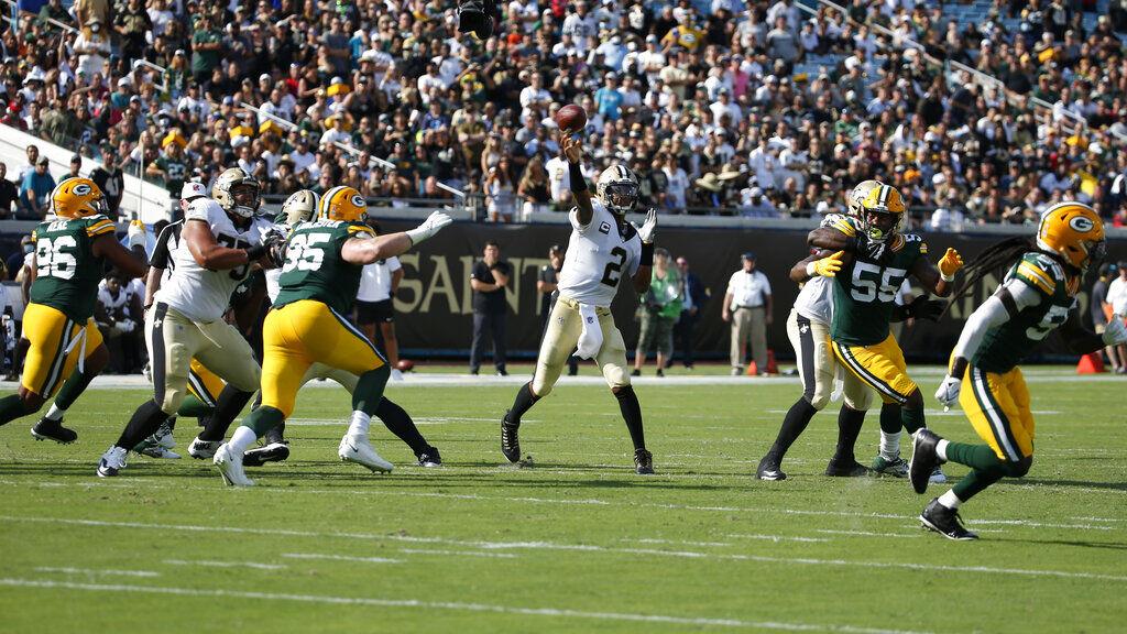 Live: Saints dominate Packers 38-3 in season opener   Saints   nola.com