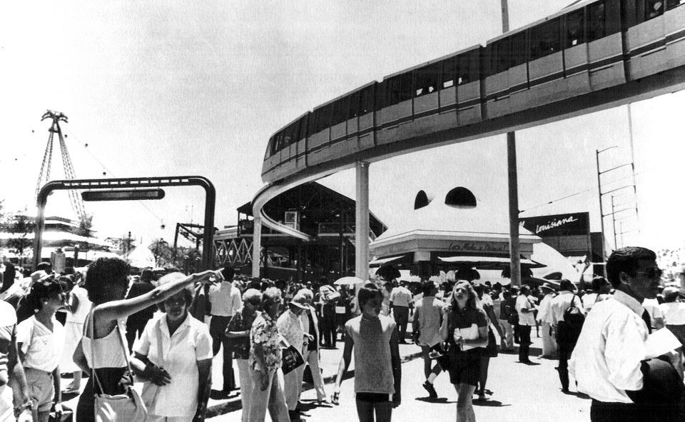 The 1984 World's Fair in New Orleans: Then and now