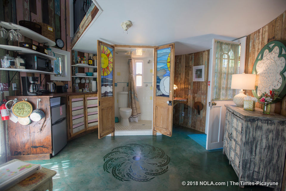 Former grain silo gets an extreme home makeover into a cute Gentilly