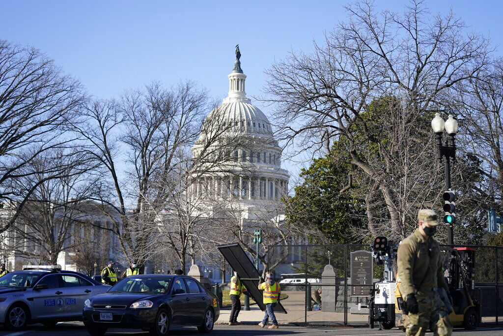 Biden Inauguration Security