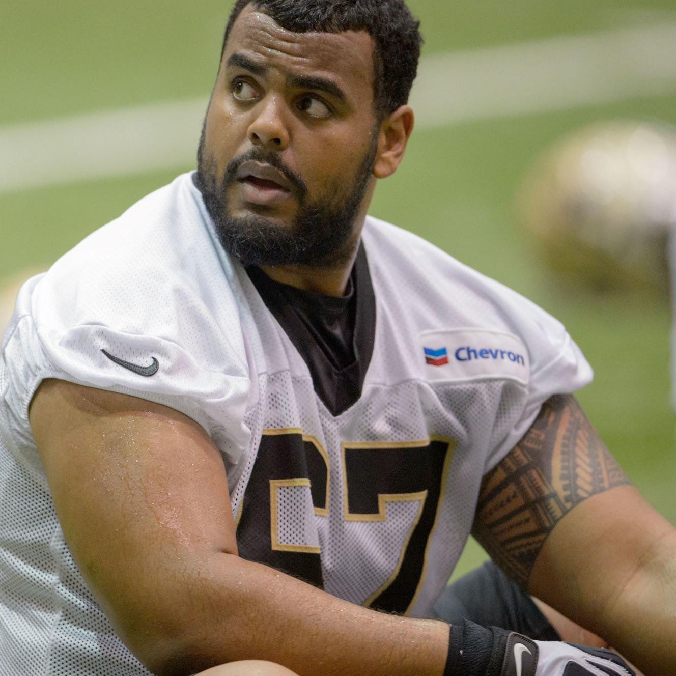 best sneakers a0c66 e20a7 Larry Warford has been steady presence for Saints as he gets ...