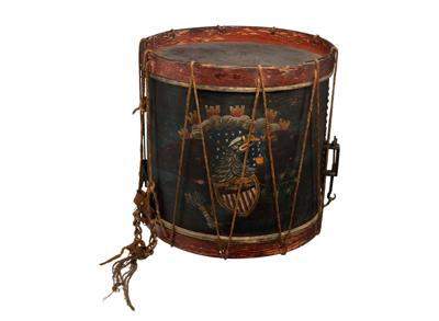 Battle of New Orleans drummer boy's drum up for auction