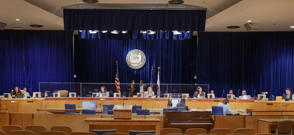 New Orleans City Council chamber