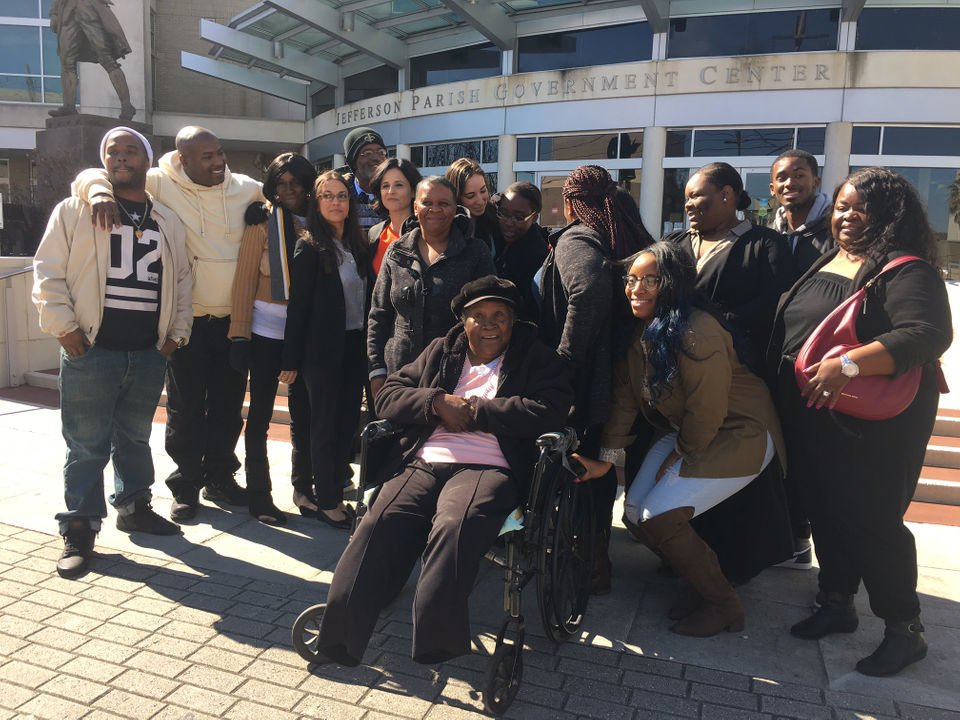 Freed after almost 38 years, Jefferson Parish man embraces family, not anger