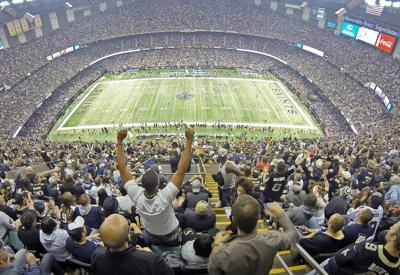 Saints fans: Dallas Cowboys at New Orleans Saints 2015
