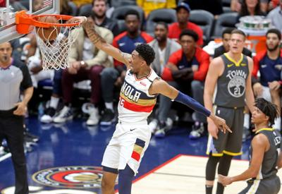 Pelicans' Christian Wood took his opportunity and ran with it
