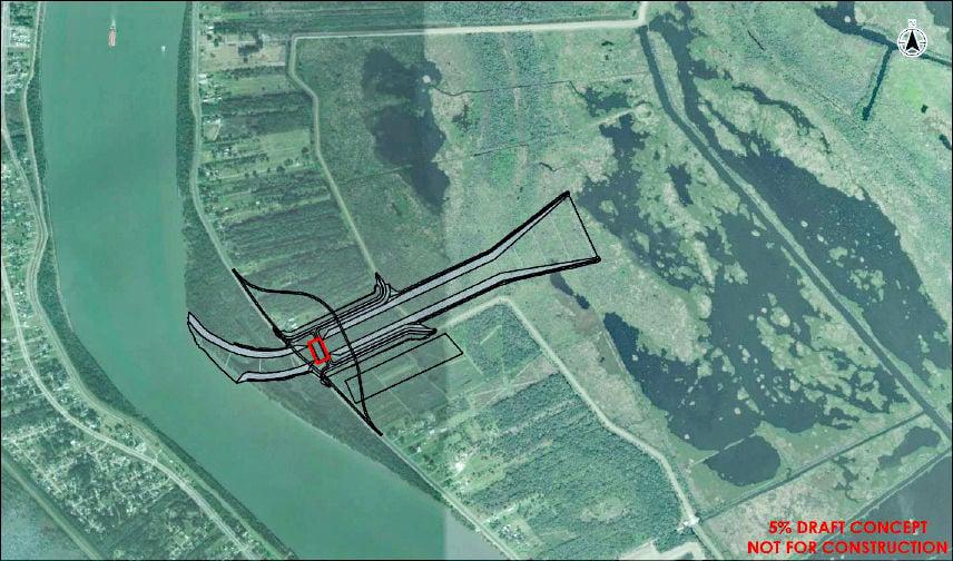 Mid-Breton Sediment Diversion proposed for east bank of Mississippi River