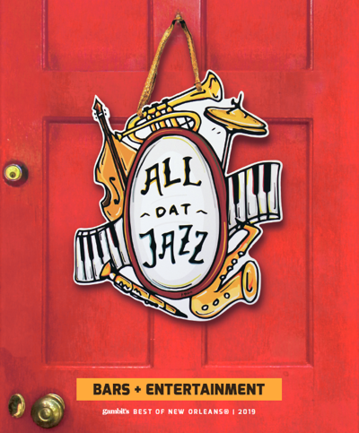 All that Jazz door hanger