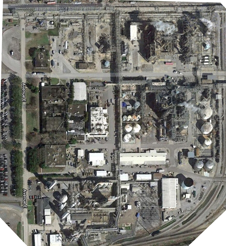Aerial view of the Rubicon LLC manufacturing complex