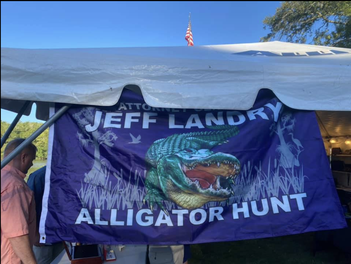 landry gator hunt flag