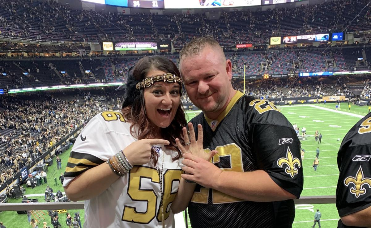 Who Dats Bryce Teer and Mickee Ramsey get engaged  1.jpg