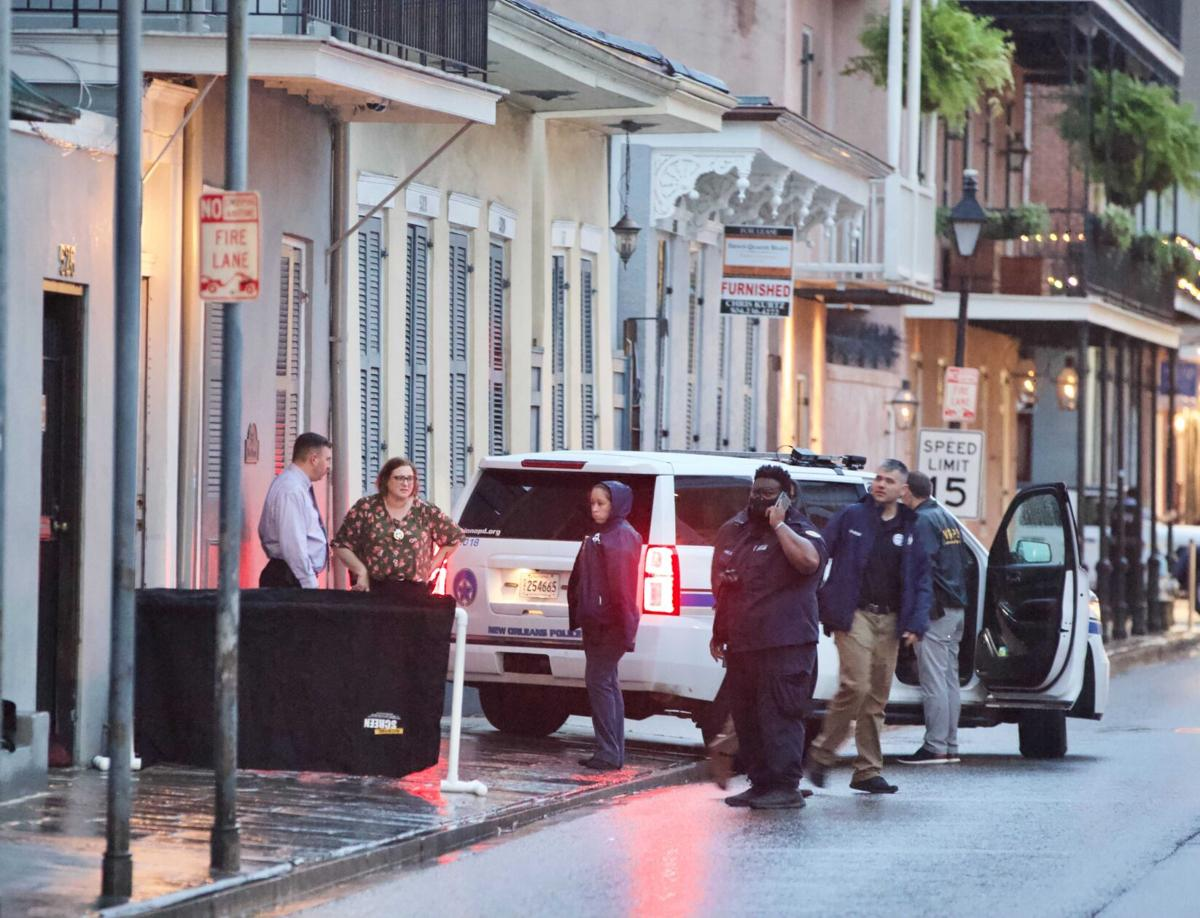 French Quarter homicide on Dauphine Street