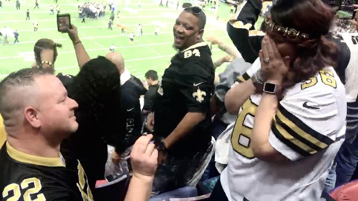 Who Dats Bryce Teer and Mickee Ramsey get engaged  2.jpg