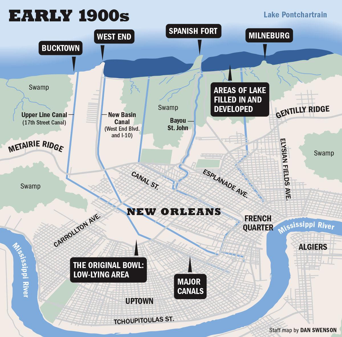 090119 Early 1900s New Orleans map