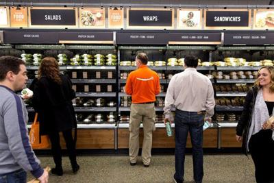 Amazon Go, a cashless convenience store, opens in Seattle