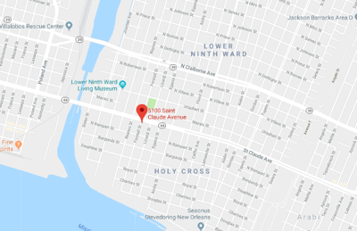 Man shot on St. Claude Avenue in Lower 9th Ward, New Orleans ...