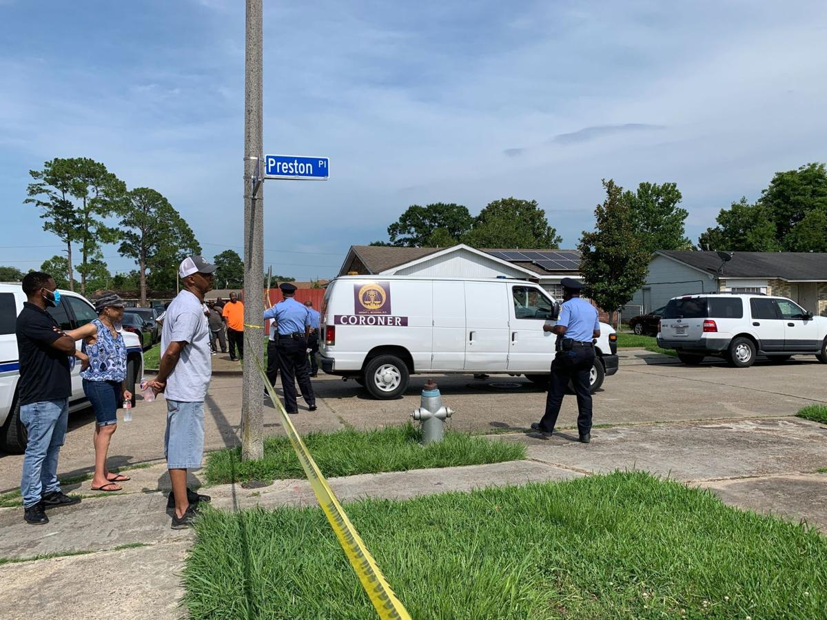Preston Place homicide