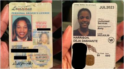 Deja Harrison's IDs