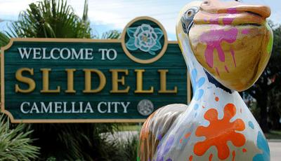 Welcome to Slidell sign