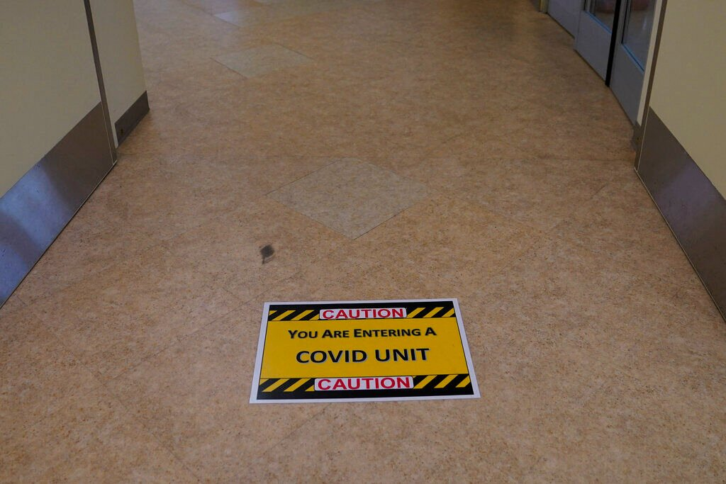 Coronavirus hospital file photo
