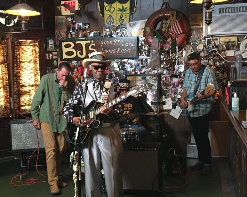 Little Freddie King records video for Krewe of Red Beans' 'Bean Coin' bar relief effort