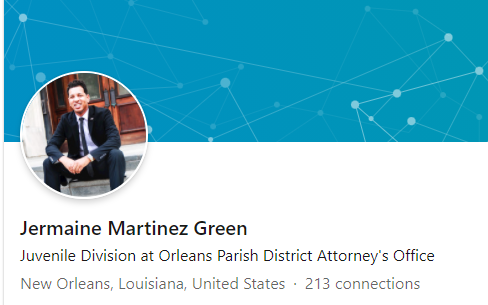 Jermaine Martinez Green's LinkedIn banner