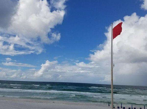 Florida Gulf Coast beaches stock photo