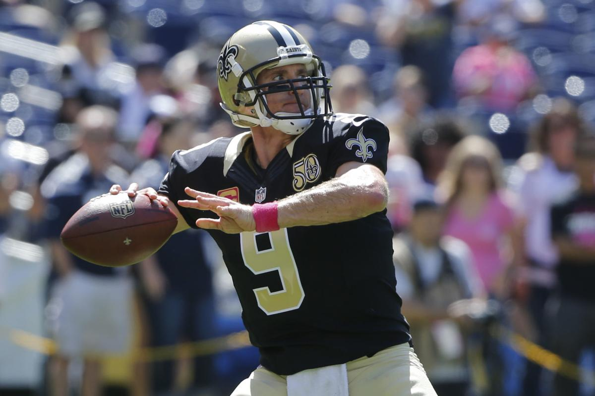 buy online ebb45 c6f5c Videos: This was special to Drew Brees, emotional before ...
