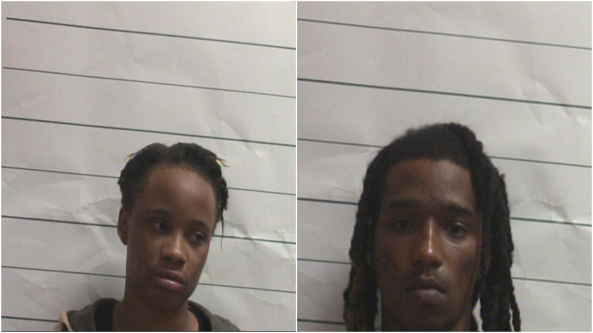 Lashontay Powell, left; and Jacques Miller