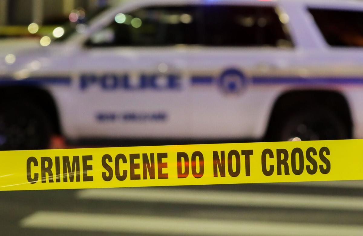 File photo of NOPD police crime scene