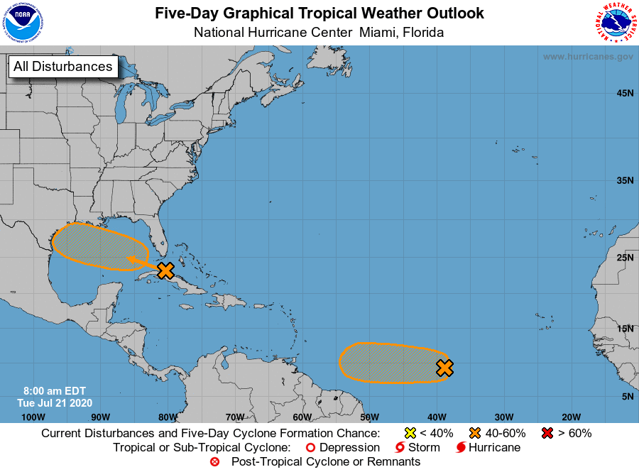 Tropical weather update tuesday morning