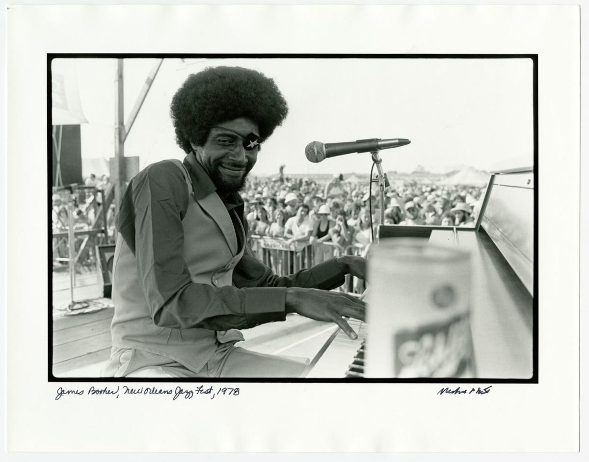 James Booker, New Orleans Jazz Fest