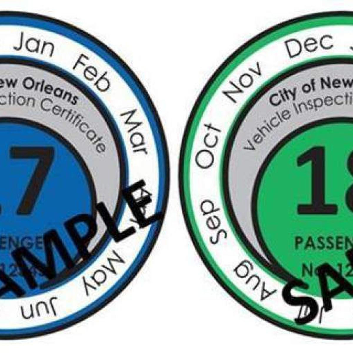 New Orleans drivers to get 2-year brake tags, with easy-to