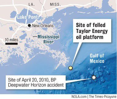 12 years after Gulf oil platform destroyed, feds start investigating environmental damage